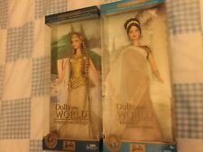 Barbie Dolls Of The World , Princess Of The Vikings & Ancient Greece Doll , NRFB