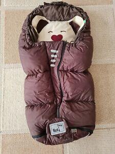 Mucki L Odenwälder babynest Fusssack Kinderwagensack guter Zustand
