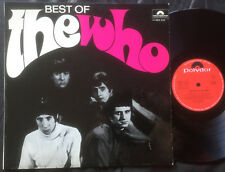 THE WHO - BEST OF THE WHO Ultrarare 1968 Aussie only MONO PSYCH/GARAGE LP!
