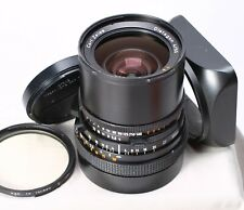 HASSELBLAD CARL ZEISS 50MM F/4 DISTAGON T* CF LENS + HOOD - STICKY APERTURE
