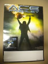 POSTER ACE FREHLEY (KISS ) ADVERT  ANOMALY CM 30 X CM 42