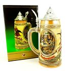 Budweiser Anheuser Busch Beer Stein Tomorrows Treasures Cooperage Aging 1985 NEW