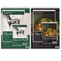 A3 A4 A5 Sketch Pad Spiral Book White Paper Artist Sketching Drawing Premium