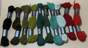 BaaWoolly Yarns : Vintage LAINE COLBERT DMC PARIS Tapestry Wool Yarn. 8 metres.
