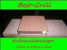 BEST-GRILL  Kaltraucherzeuger Sparbrand Räucherofen Raucherzeuger 25 x 25 cm