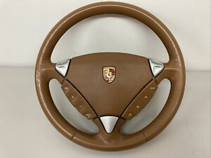 Porsche Cayenne 955 Turbo 955 Steering-wheel Leather Heated steering wheel