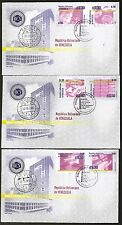 VENEZUELA 2005 SET OF 5 FIRST DAY COVER CENTRAL BANK 65th SCOTT #1656