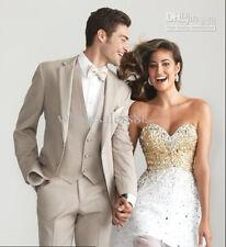 Hot Sale mens Wedding Suits Groom Tuxedos Groomsman Best Man Suits Party Blazers