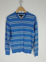 TOMMY HILFIGER LANA WOOL Maglione Cardigan Sweater Jumper Pullover Tg XS Uomo