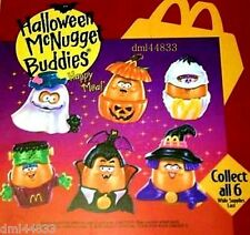 1993 McDonalds Halloween McNugget Buddies MIP Complete Set & U3 - Lot of 7