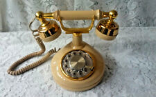 Vintage Rotary Dial French Victoria Princess Style working Telephone Desk