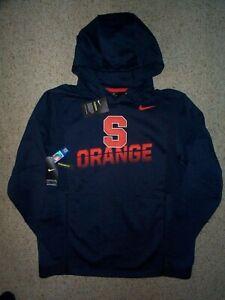 ($125) NIKE Syracuse Orange ncaa Jersey Sweatshirt Adult MENS/MEN'S (3XL-XXXL)
