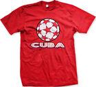 Cuba Stars Soccer Ball Cuban Country Team Born From Heritage CUB Men's T-Shirt
