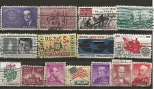 Sale of US stamps ---- USED