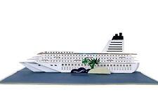 Kreuzfahrtschiff 3D Geburtstagskarte Klappkarte Glückwunschkarte Geschenkkarte