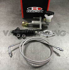 BLOX S2000 CMC CLUTCH MASTER & EXEDY SLAVE CYLINDER KIT w/ STAINLESS CLUTCH LINE