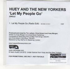 (DK129) Huey & The New Yorkers, Let My People Go - 2012 DJ CD