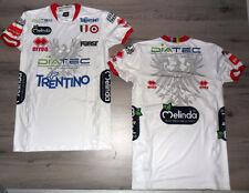 Fw14 ITAS DIATEC TRENTINO VOLLEYBALL SHIRT L Wht Shirt Volleyball Trento shirt
