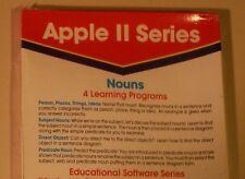 Nouns for Apple II Plus, Apple IIe, Apple IIC, Apple IIGS - NEW