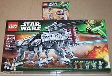 LEGO Star Wars AT-TE Clone Troopers vs. Droidekas 75019 75000 Mace Windu Coleman