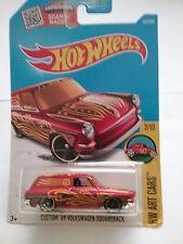 Hot Wheels 2016 Hw Art Cars Custom '69 Volkswagen Squareback Red