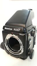 Mamiya Rz67 Pro Ii Film Camera Body w/ Ae Finder Ii + Pro 120 back
