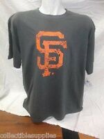 San Francisco Giants MLB Pigment Dye Tee T-Shirt - Mens Big Sizes 3XL & 4XL