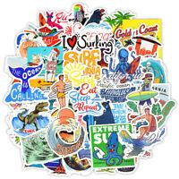 50PCS/Lot Summer Skateboard Stickers Vinyl Laptop Luggage Decals Girls Sticker