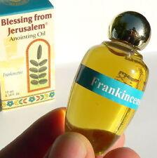 Frankincense Blessed Anointing Oil 10ml  Jerusalem Holy Bible Land Olive Incense