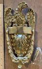 Brass Eagle Doorknocker