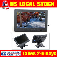 """S702 1024*600 7"""" HD TFT LCD Color Monitor VGA BNC Video Audio for PC,VCD,DVD"""