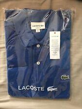 Pequeño Hombre Nuevo Camisa Polo Lacoste Calce Clásico en Azul Saurel Chine Talla 3