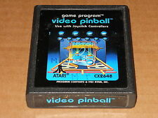 Atari 2600 - VIDEO PINBALL - Video Game Cartridge RARE VINTAGE CX2648