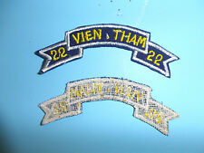 b4271 RVN Tab Vietnam Long Range Reconnaissance Patrol LRRP Vien Tham 22