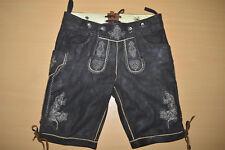 Bavarian Leder Hose Lederhosen Leather Short Pant Trachten Loden Boy Youth S M