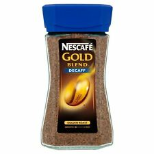 Nescafe Gold Blend Decaffinated Instant Coffee -100g-Pack of 4 (100g x 4)