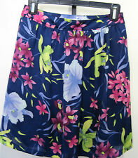Banana Republic Designer Skirt,Multicolored With Floral Design Size 0 - $89.50