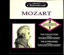 Mozart / The Collection - The Symphonies - 2CD - Fat Box  - MINT