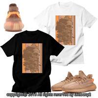 CUSTOM T SHIRT MATCHING STYLE OF adidas Yeezy Boost 350 V2 Clay AD-Y-4-7