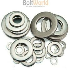 M1.6 A4 MARINE GRADE STAINLESS STEEL FORM A WASHERS THICK WASHER FIT BOLT SCREWS