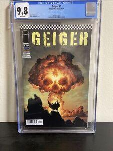 Geiger #1 - CGC 9.8 - Gary Frank Cover - Geoff Johns Story - Image Comics 2021