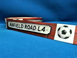 1 METRE ANFIELD ROAD LIVERPOOL RIBBON SIZE INCH HEADBANDS BOWS BIRTHDAY CAKE