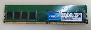 4GB (1x4GB) Crucial CT4G4DFS824A-C8FHP PC4-2400 Desktop RAM
