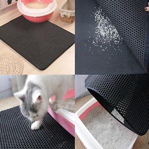 Cat Litter Waterproof Double Mat Eva Layer Toilet Foldable Pet Bottom