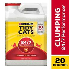 Purina Tidy Cats 4-in-1 Strength Clumping Cat Litter Dust Free Formula 20/35 lbs