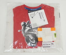 BMW Motorrad Child Red Shirt New with Tags in Bag Unused Logo Kinder Rot3-4J EUR