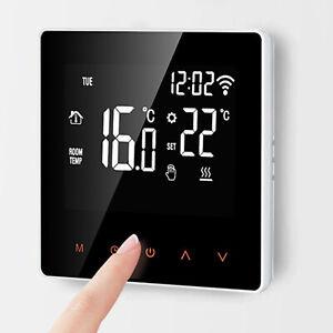GT01 Wi-Fi Smart Thermostat for Smart Home DIY Work with Alexa Wifi : Tuya