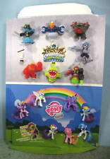 SKYLANDERS SWAP FORCE AND MY LITTLE PONY FIGURES ON MCDONALDS STORE DISPLAY #956
