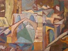 Puente de Toledo by Diego Rivera  Giclee Canvas Print Repro