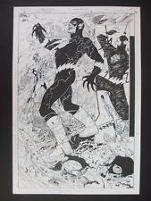 Flash Rebirth #2 DC 2009 (Original Art) Splash Page 22 By Ethan Van Sciver!!!
